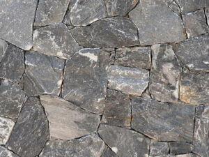 Naturstein Verblender schwarz Evenos 4 min