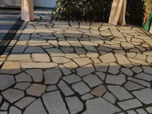 Polygonalplatten Grau Antik 1