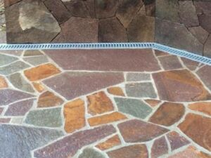 Polygonalplatten Porphyr 5