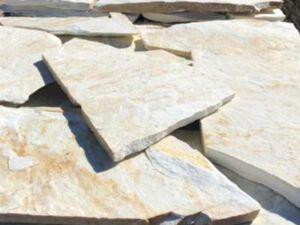 Polygonalplatten Weiss Triana 1