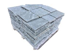 Sandsteinplatten Antik Grau