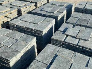 Sandsteinplatten Antik Grau 5