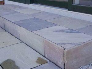 Sandsteinplatten Braun Modak 6