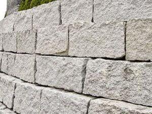 Trockenmauersteine Granit 5 min