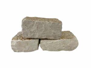 Trockenmauersteine Weiss Antik