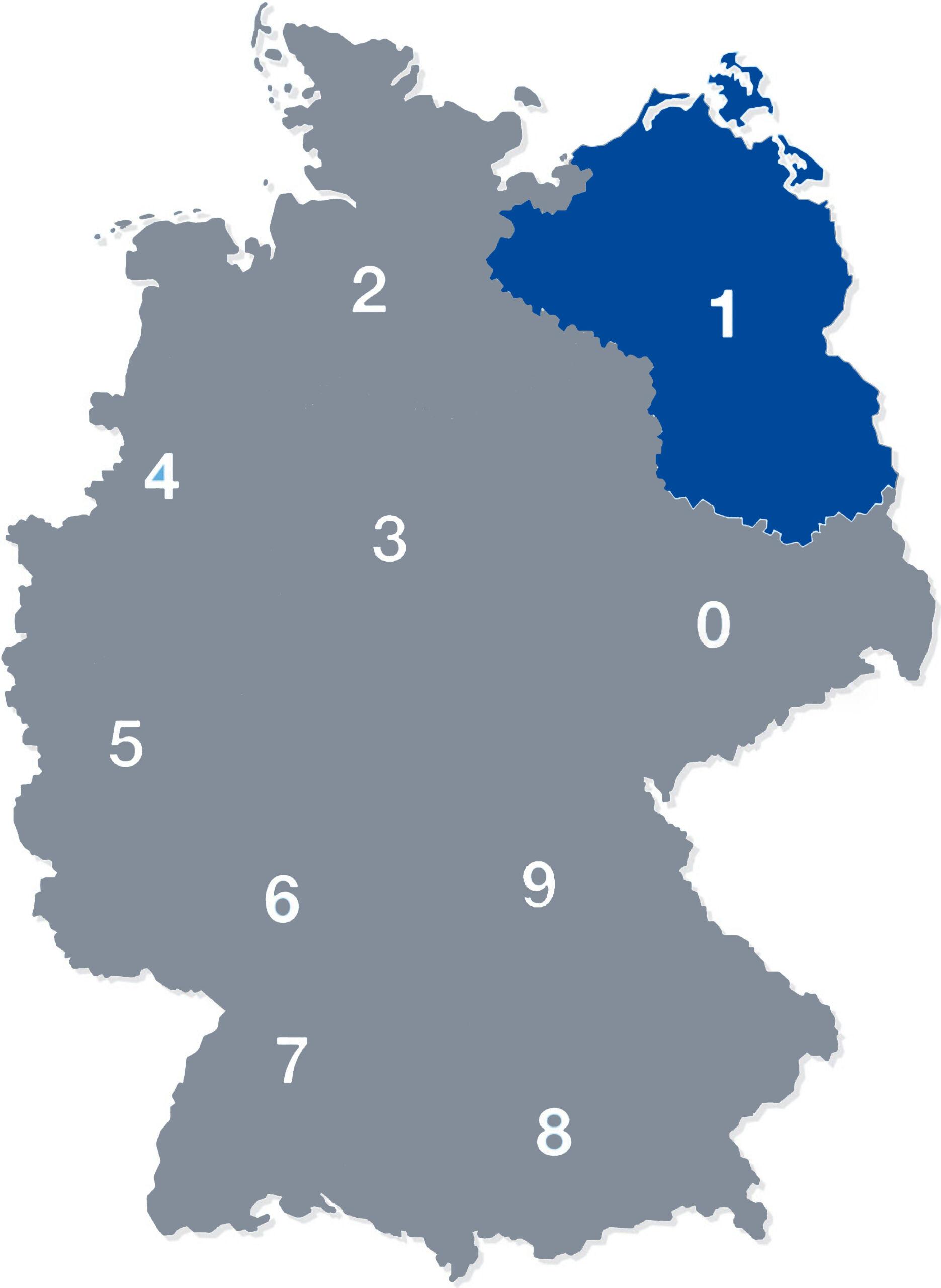 deutschland plz 1