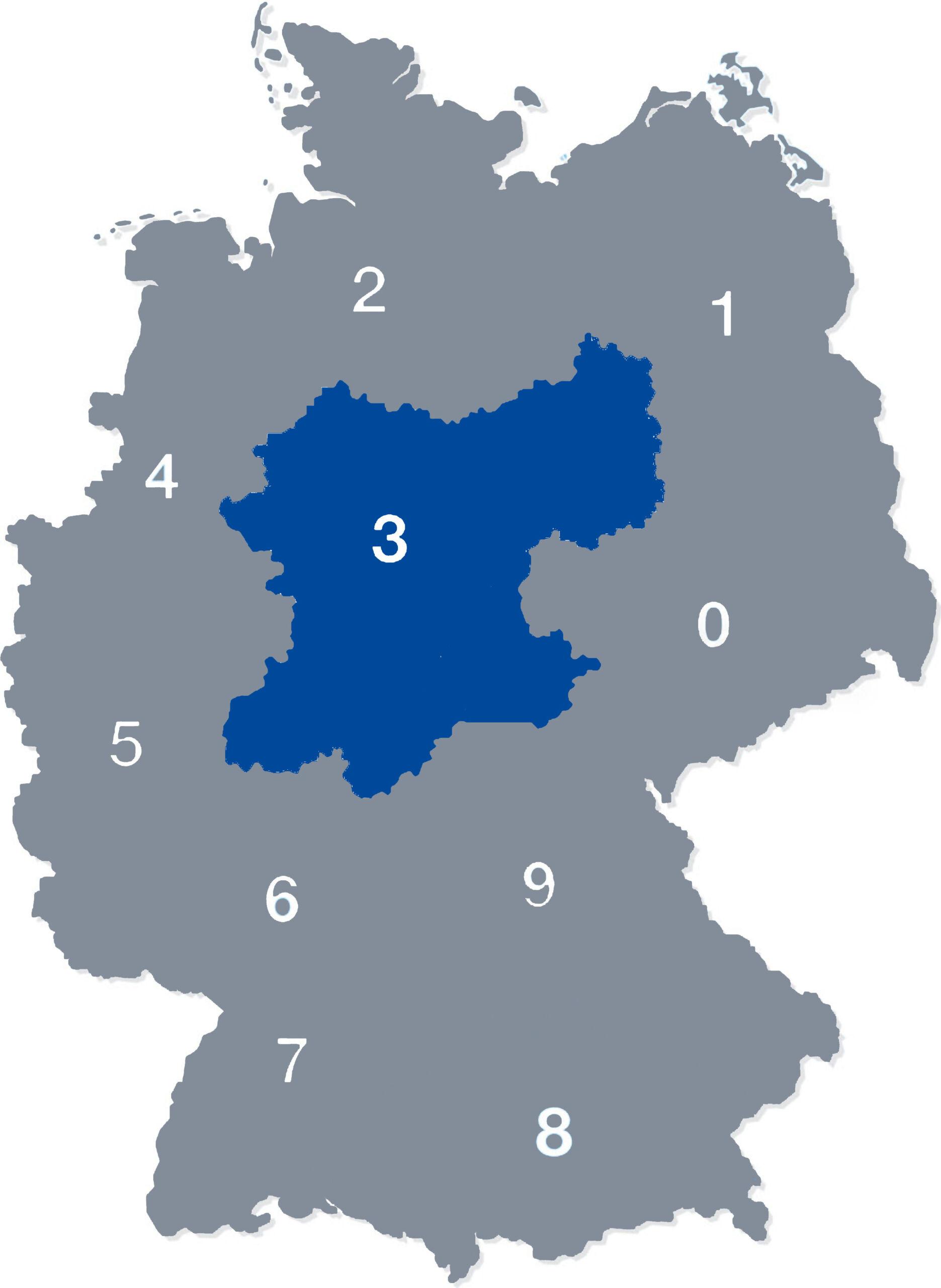 deutschlandkarte plz 3psd