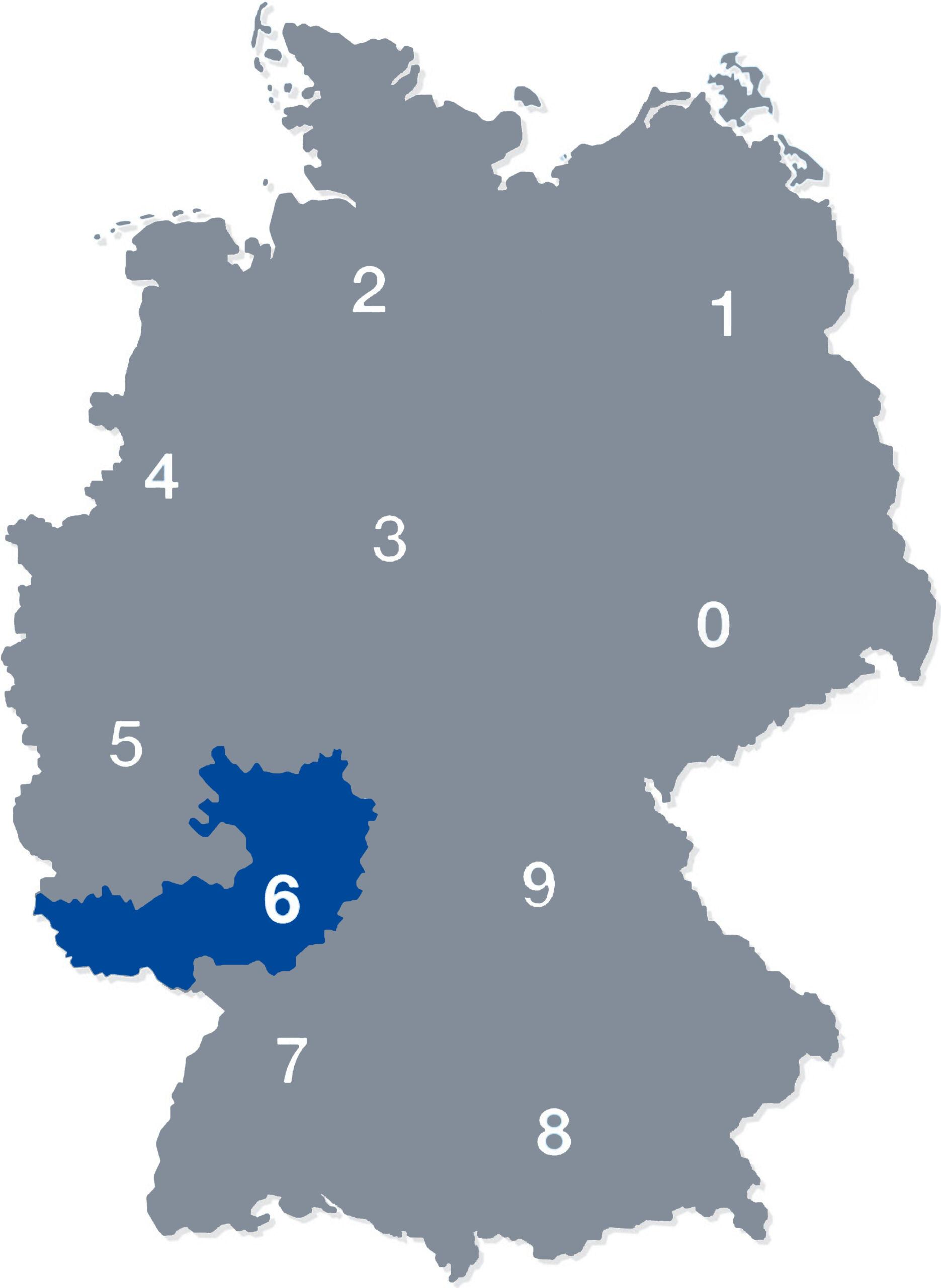 deutschlandkarte plz 6